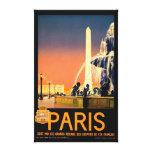Vintage Travel Poster Canvas Print