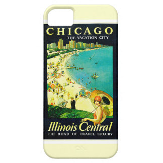 Vintage Travel Poster, Chicago, Illinois iPhone 5 Cases