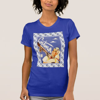 Vintage travel poster, Cortina T-Shirt