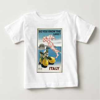 Vintage-Travel-Poster-Italy-2 Baby T-Shirt
