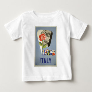 Vintage-Travel-Poster-Italy-5 Baby T-Shirt