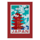 Vintage Travel Poster Japan