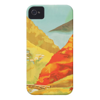 Vintage Travel Poster Japan iPhone 4 Cover