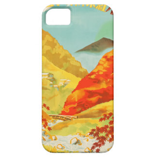 Vintage Travel Poster Japan iPhone 5 Covers