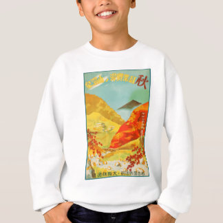 Vintage Travel Poster Japan Sweatshirt