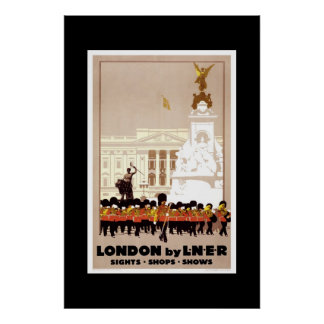 Vintage Travel Poster London