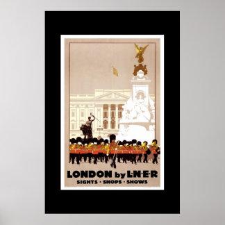 Vintage Travel Poster London