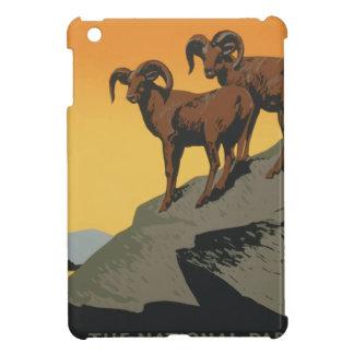 Vintage Travel Poster National Parks America USA iPad Mini Case