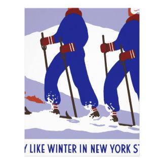 Vintage-Travel-Poster-New-York-America-USA Custom Letterhead