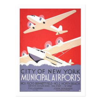 Vintage Travel Poster,New York Postcard