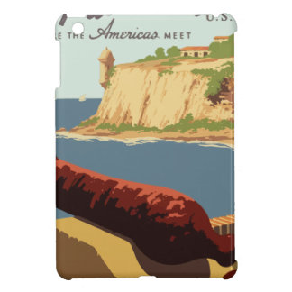 Vintage Travel Poster Puerto Rico iPad Mini Cases