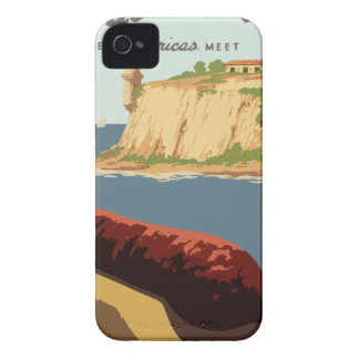 Vintage Travel Poster Puerto Rico iPhone 4 Case-Mate Cases