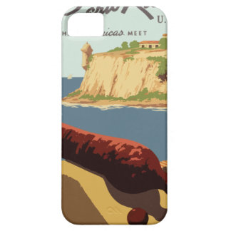 Vintage Travel Poster Puerto Rico iPhone 5 Covers