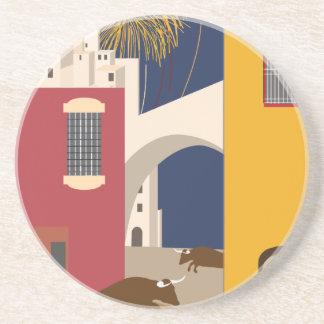 Vintage-Travel-Poster-Spain Coaster