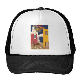 Vintage-Travel-Poster-Spain Trucker Hat