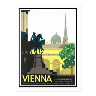 Vintage Travel Poster,Vienna Postcard