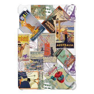VINTAGE TRAVEL POSTERS - iPad MINI COVERS