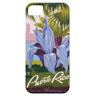 Vintage Travel Puerto Rico iPhone 5 Case