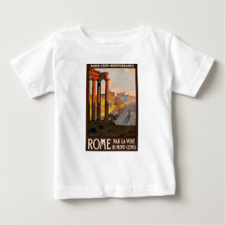 Vintage Travel Rome Italy 1920 Baby T-Shirt
