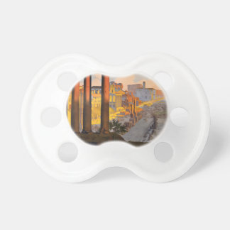 Vintage Travel Rome Italy 1920 Pacifier