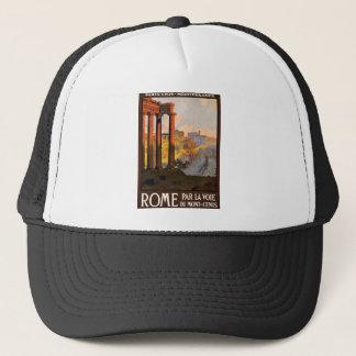 Vintage Travel Rome Italy 1920 Trucker Hat
