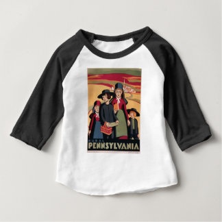 Vintage Travel Rural Pennsylvania Baby T-Shirt