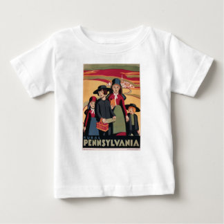 Vintage Travel Rural Pennsylvania Baby T-Shirt
