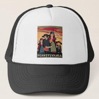Vintage Travel Rural Pennsylvania Trucker Hat