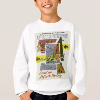Vintage Travel South Dakota USA Sweatshirt
