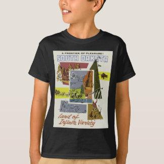 Vintage Travel South Dakota USA T-Shirt