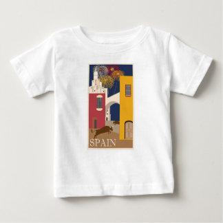 Vintage Travel Spain Baby T-Shirt