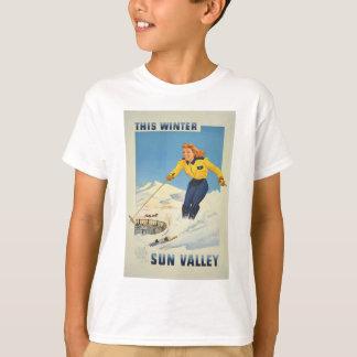 Vintage Travel Sun Valley Idaho T-Shirt