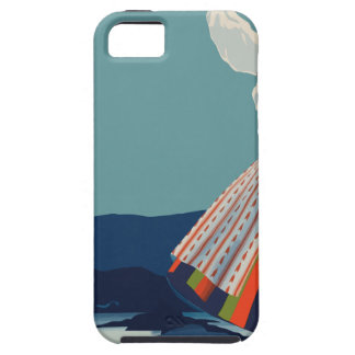 Vintage Travel Sweden Case For The iPhone 5