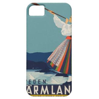 Vintage Travel Sweden iPhone 5 Case