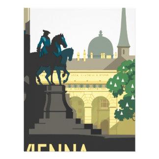 Vintage Travel Vienna Letterhead