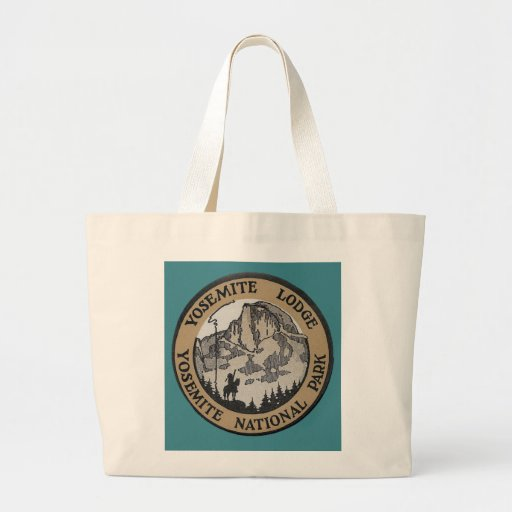 Vintage Travel - Yosemite Canvas Bag