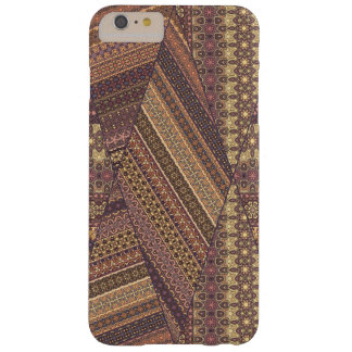 Vintage tribal aztec pattern barely there iPhone 6 plus case