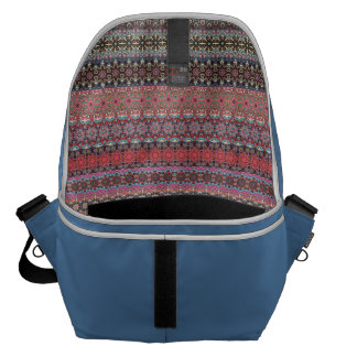 Vintage tribal aztec pattern commuter bags