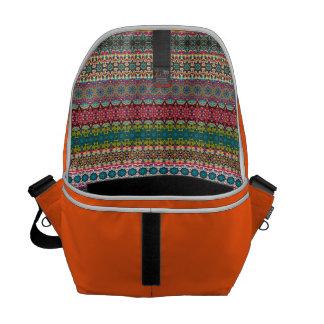Vintage tribal aztec pattern commuter bags