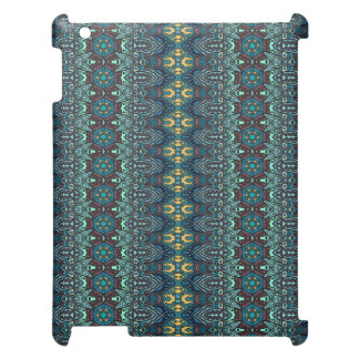 Vintage tribal aztec pattern cover for the iPad 2 3 4