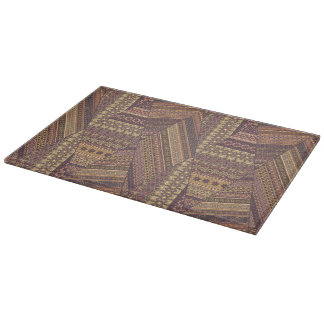 Vintage tribal aztec pattern cutting board