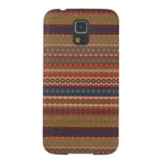 Vintage tribal aztec pattern galaxy s5 case