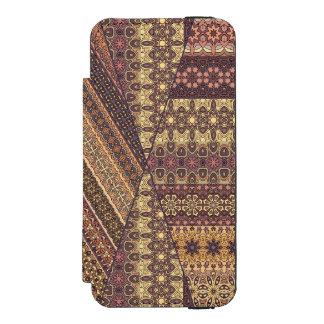 Vintage tribal aztec pattern incipio watson™ iPhone 5 wallet case