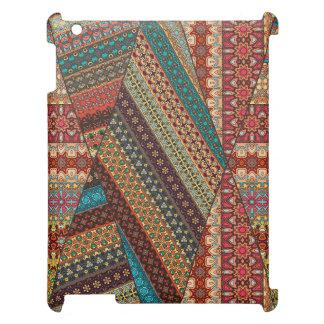 Vintage tribal aztec pattern iPad cover