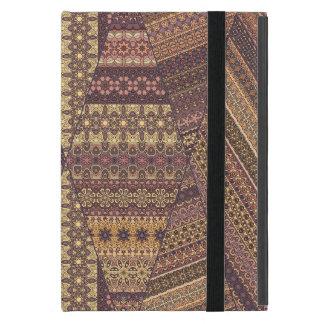 Vintage tribal aztec pattern iPad mini case