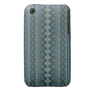 Vintage tribal aztec pattern iPhone 3 case