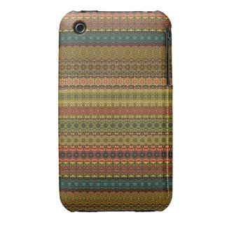 Vintage tribal aztec pattern iPhone 3 Case-Mate cases