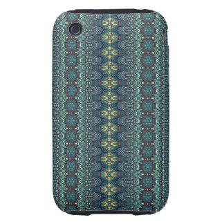 Vintage tribal aztec pattern iPhone 3 tough cover