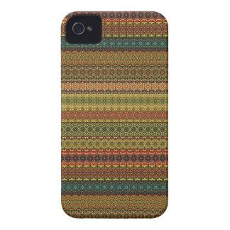 Vintage tribal aztec pattern iPhone 4 cases