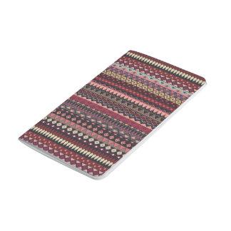 Vintage tribal aztec pattern journal